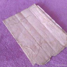 Manuscritos antiguos: CAPBREU DE MONISTROL DE MONTSERRAT 1703. Lote 56027610
