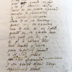 Manuscritos antiguos: POESIA , ODA, MANUSCRITA ORIGINAL, DEDICADA A LA CONDESA DE SUPERUNDA, SIGLO XVIII. INEDITA. Lote 56786116