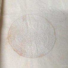 Manuscritos antiguos: 1801PLEITO MONASTERIO SANTES CREUS NULIDAD ELECCIONES CASA MAYOR STA. LUCÍA TARRAGONA PONT ARMENTERA. Lote 56829640