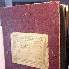 Manuscritos antiguos: MANUSCRITO REAL DE MONTROY. PARIDERA DE LOS NAVARROS. (VALENCIA). RIEGO EN HANEGADAS 1928. (MONTROI. Lote 57227646