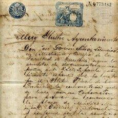 Manuscritos antiguos: DOCUMENTO DE ESPAÑOL MEDICO SOLICITANDO LA PLAZA , PUERTO PRINCIPE ,CUBA , 1893 , ORIGINAL , D4 - 23. Lote 57363725