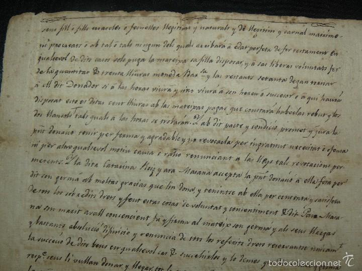 Manuscritos antiguos: MANUSCRITO 1827 / TESTAMENTO - Foto 5 - 57526604