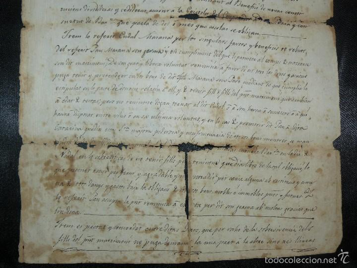 Manuscritos antiguos: MANUSCRITO 1827 / TESTAMENTO - Foto 6 - 57526604