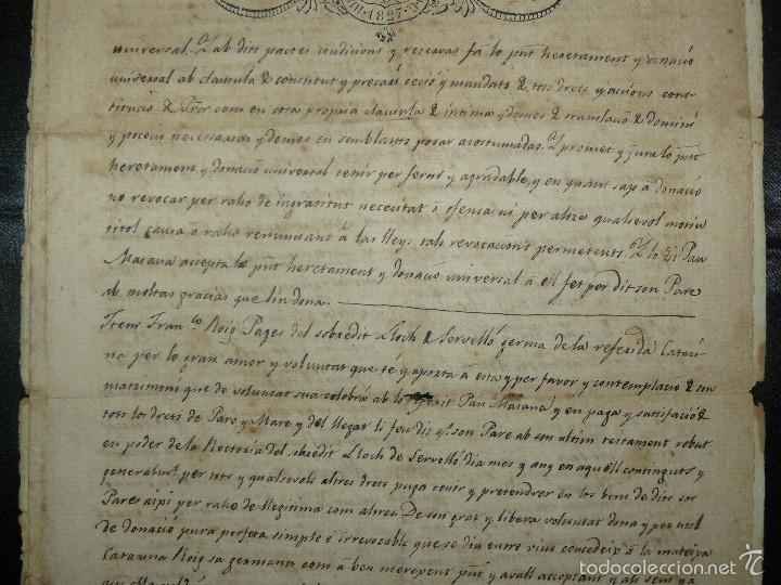 Manuscritos antiguos: MANUSCRITO 1827 / TESTAMENTO - Foto 7 - 57526604