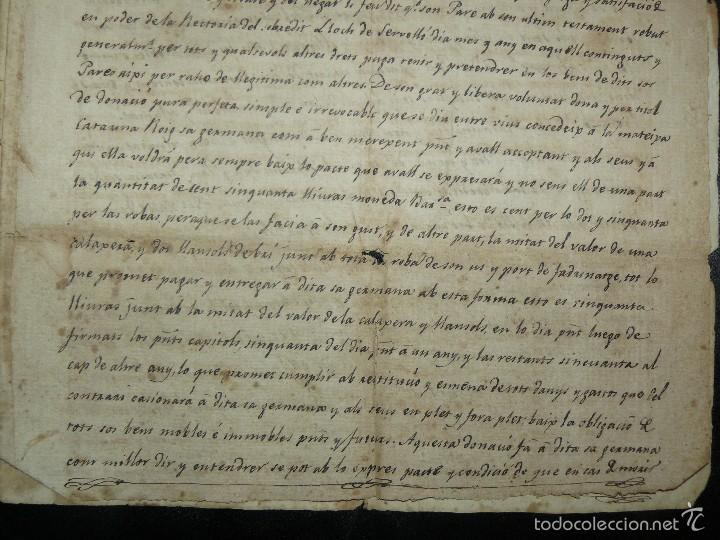 Manuscritos antiguos: MANUSCRITO 1827 / TESTAMENTO - Foto 10 - 57526604