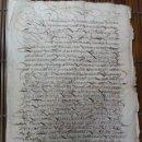 Manuscritos antiguos: TRUEQUE DE VIÑAS CARRIÓN DE LOS CONDES 1568 SAN MAMÉS Y SAN ANDRÉS. Lote 45725634