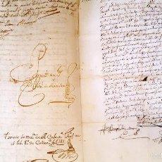 Manuscritos antiguos: MANUSCRITO CORTEGANA POSESION DADA A F. J. ESPINOSA DE LOS MONTEROS DE LA Cª FUNDO PEREZ BOZA. 1751. Lote 58322131
