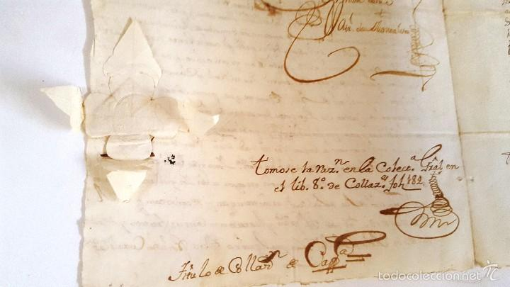 Manuscritos antiguos: MANUSCRITO CORTEGANA POSESION DADA A F. J. ESPINOSA DE LOS MONTEROS DE LA Cª FUNDO PEREZ BOZA. 1751 - Foto 4 - 58322131