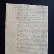 Manuscritos antiguos: ALFOZ DE SANTA GADEA AÑO 1923 / SENTENCIA JUZGADO MUNICIPAL / QUINTANILLA / ARIJA / BURGOS. Lote 58700167