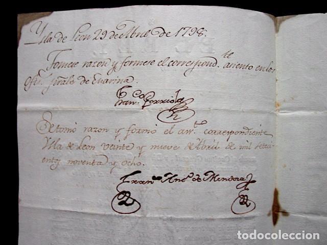 Manuscritos antiguos: 1798-CONCESION GRADO OFICIAL PRIMERO GRADUADO MINISTERIO MARINA-FIRMA REAL REY CARLOS IV-SELLO PLOMO - Foto 4 - 62009072