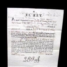 Manuscritos antiguos: 1794. NOMBRAMIENTO DE OFICIAL DE CLASE DE SEGUNDOS DEL MINISTERIO DE MARINA-FIRMA REAL REY CARLOS IV. Lote 62009272