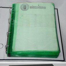 Manuscritos antiguos: COLECCIÓN PAPEL SELLADO EN BLANCO-DE 1637 A 1900-TIMBROLOGIA-SELLO FISCAL OFICIO POBRES. Lote 62082220