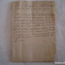 Manuscritos antiguos: MANUSCRITO DE PRINCIPIOS S. XIX. SANTA LLOGAYA. PARTIDO DE GERONA. 15 HOJAS. Lote 62212040