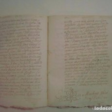 Manuscritos antiguos: MANUSCRITO DE 1706. GERUNDA.GIRONA. NUBCIALS.TEXTO LATÍN. 7 PÁGINAS.FOLIO MENOR. Lote 62306848