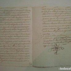 Manuscritos antiguos: MANUSCRITO DE 1661.VICARIA GERUNDA.TEXTO CATALÁN. 12 PÁGINAS. FOLIO MENOR. Lote 62308344