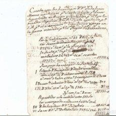 Manuscritos antiguos: GUERRA INDEPENDENCIA - LANA SECUESTRADA EN BURGOS Y SANTANDER POR EL EMPERADOR NAPOLEON. Lote 62677472