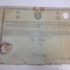 Manuscritos antiguos: ANTIGUO DOCUMENTO LATÍN ESTUDIOS SANCTI PAULI BURGENFIS SANTANDER. Lote 64229311