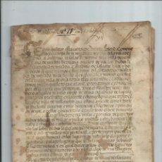 Manuscritos antiguos: 1533 OÑA BURGOS - VENTA DE TIERRAS, VIÑAS, COLMENAS, PASTOS , ARBOLES, PARRALES DE PAN Y VINO, .... Lote 66840310
