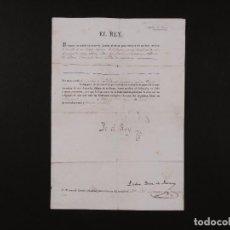 Manuscritos antiguos: FIRMA REAL FERNANDO VII 1831. Lote 67940549