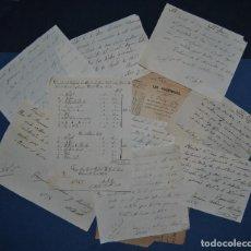 Manuscritos antiguos: LOTE DE MANUSCRITOS. Lote 69975521