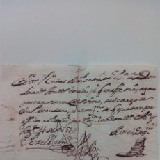 Manuscritos antiguos: DOCUMENTO MANUSCRITO DE 1751. Lote 70055845