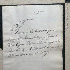 Manuscritos antiguos: TESTAMENTO GERONIMA DE VARGAS - GARCI PEREZ DE VARGAS - BALTASAR CALDERON CONQUISTA AMERICA PIZARRO. Lote 236317365
