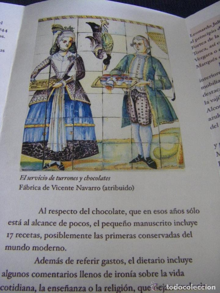 Manuscritos antiguos: Manuscrito de la primera receta de horchata de la historia Valencia año 1748 siglo XVIII - Foto 3 - 71042797