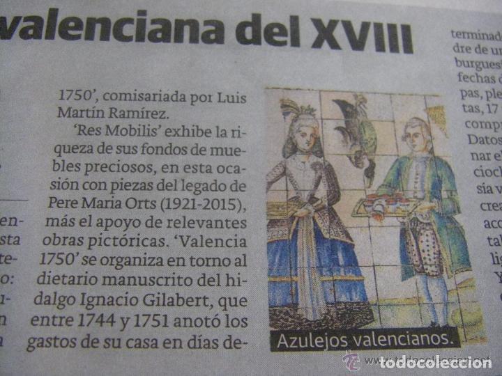 Manuscritos antiguos: Manuscrito de la primera receta de horchata de la historia Valencia año 1748 siglo XVIII - Foto 6 - 71042797