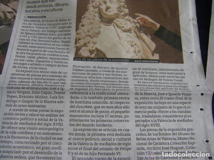 Manuscritos antiguos: Manuscrito de la primera receta de horchata de la historia Valencia año 1748 siglo XVIII - Foto 8 - 71042797