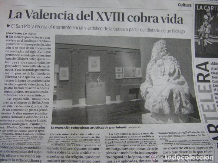 Manuscritos antiguos: Manuscrito de la primera receta de horchata de la historia Valencia año 1748 siglo XVIII - Foto 10 - 71042797