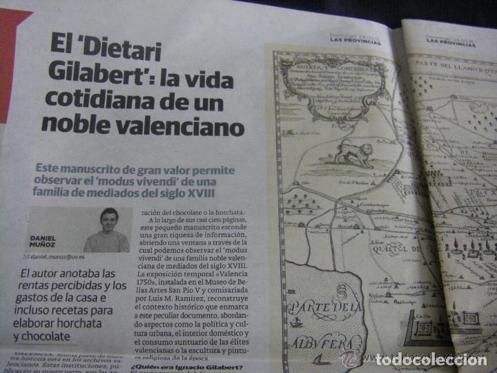 Manuscritos antiguos: Manuscrito de la primera receta de horchata de la historia Valencia año 1748 siglo XVIII - Foto 11 - 71042797