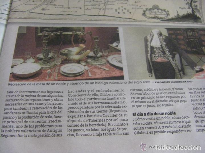 Manuscritos antiguos: Manuscrito de la primera receta de horchata de la historia Valencia año 1748 siglo XVIII - Foto 13 - 71042797
