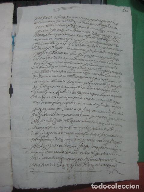 Manuscritos antiguos: MANUSCRITO FIRMADO AÑO 1599 VILVIESTRE - BURGOS ARRENDAMIENTO DE UNA OLMEDA, COMPLETO DE 5 PAGINAS - Foto 12 - 71171293