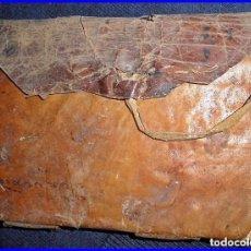 Manuscritos antiguos: CURIOSO LIBRO DE CUENTAS MANUSCRITO DE QUINTANILLA DE SOBRESUEGRA (BURGOS). PERGAMINO. AÑO 1839.. Lote 71741079