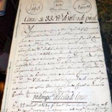 Manuscritos antiguos: CENSO. DOCUMENTO MUY ANTIGUO 1616, POZOBLANCO, CÓRDOBA. PAPEL FISCAL, 1650. A INVESTIGAR. VER FOTOS. Lote 71924139
