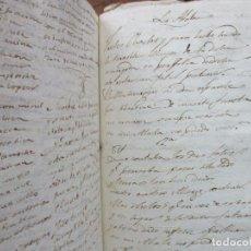 Manuscritos antiguos: MANUSCRITO PRIMERA MITAD S. XIX. POEMAS Y CANCIONES. . Lote 73129887