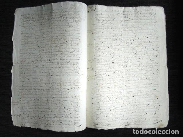 AÑO 1645,MADRID. TESTIMONIO E INVENTARIO JUDICIAL. (Coleccionismo - Documentos - Manuscritos)