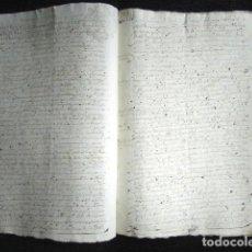 Manuscritos antiguos: AÑO 1645,MADRID. TESTIMONIO E INVENTARIO JUDICIAL.. Lote 74838747