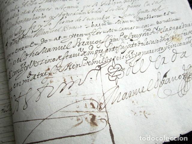 Manuscritos antiguos: AÑO 1645,MADRID. TESTIMONIO E INVENTARIO JUDICIAL. - Foto 2 - 74838747