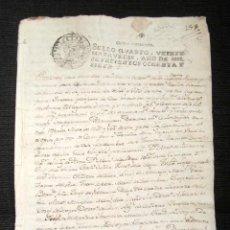 Manuscritos antiguos: AÑO 1787, PANES, CIMIANO, VALLE DE PEÑAMELLERA (ASTURIAS). REUNIÓN DE PUEBLOS. . Lote 74899795