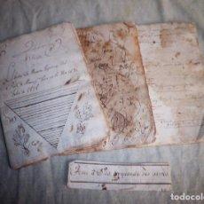 Manuscritos antiguos: LIBRETAS ESCOLARES MANUSCRITAS AÑO 1828.. Lote 75286211