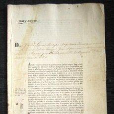 Manuscritos antiguos: AÑO 1840, AGUILAFUENTE (SEGOVIA). AMORTIZACIÓN DE MENDIZABAL. RELIGIOSAS DE SAN ANTONIO EL REAL.. Lote 75306027