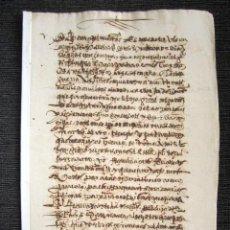 Manuscritos antiguos: AÑO 1585, ÉCIJA (SEVILLA). OBLIGACIÓN DE PAGO SOBRE UNAS TUTORÍAS DE MENORES. . Lote 75306199