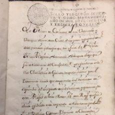 Manuscritos antiguos: JUAN BAUTISTA VALENZUELA VELAZQUEZ, OBISPO DE SALAMANCA. LIBRO MANUSCRITO. 1794. CUENCA. Lote 75593767