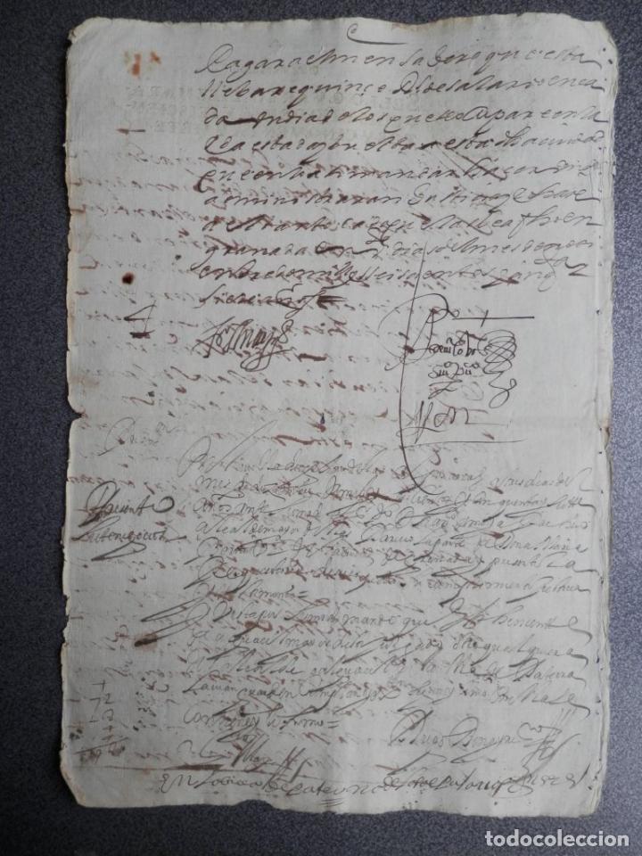 Manuscritos antiguos: MANUSCRITO DEL AÑO 1657 FISCAL 4º REY FELIPE IV LUJO GRANADA REQUISITORIA JUDICIAL - Foto 2 - 75685523