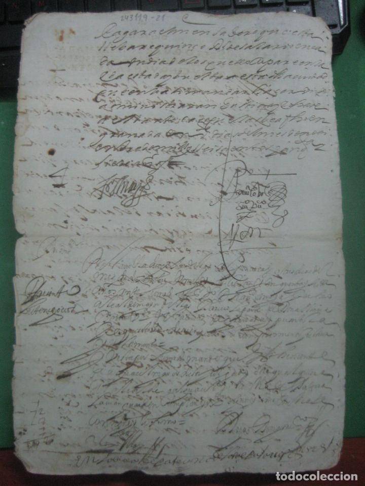 Manuscritos antiguos: MANUSCRITO DEL AÑO 1657 FISCAL 4º REY FELIPE IV LUJO GRANADA REQUISITORIA JUDICIAL - Foto 6 - 75685523