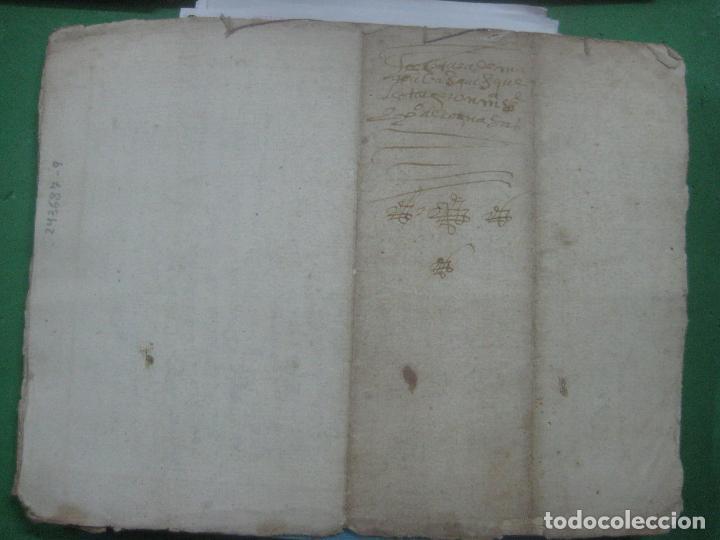 Manuscritos antiguos: MANUSCRITO DEL AÑO 1628 SANTA MARÍA DE VILLARIÑO A CORUÑA DE LA VENTA DE UNA LEIRA - Foto 6 - 75688995