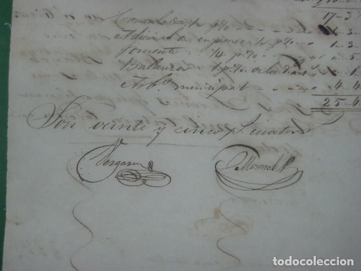 Manuscritos antiguos: REAL ADUANA DE CUBA MANUSCRITO DEL AÑO 1846 TRANSPORTE DE TABACO BONITO DOCUMENTO FIRMADO - Foto 10 - 75713159
