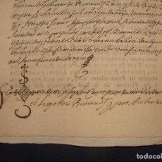 Manuscritos antiguos: CENSAL ROMANOS. IMPRESO Y MANUSCRITO 1711. DAROCA. ZARAGOZA. Lote 75729911