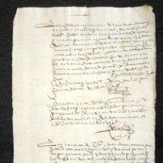 Manuscritos antiguos: AÑO 1613. GRANADA. NOTIFICACIONES Y PREGONES. . Lote 76209183